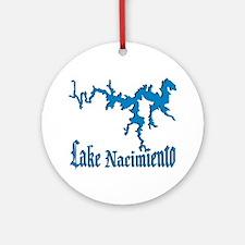 NACI_11_BLUE Ornament (Round)