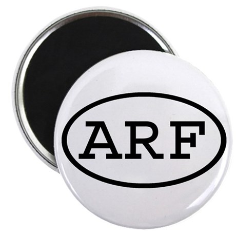 "ARF Oval 2.25"" Magnet (100 pack)"