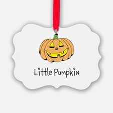 Little Pumpkin Ornament