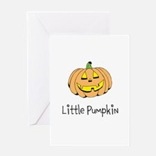Little Pumpkin Greeting Cards