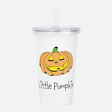 Little Pumpkin Acrylic Double-wall Tumbler