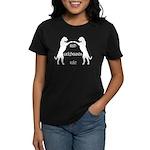 Irish Wolfhounds Rule Women's Dark T-Shirt