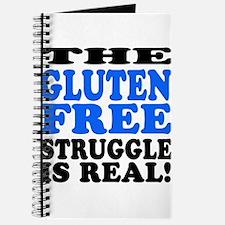 Gluten Free Struggle Blue/Black Journal