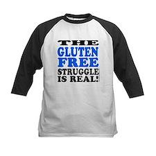Gluten Free Struggle Blue/Black Baseball Jersey