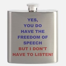 Freedom Of Speech Flask