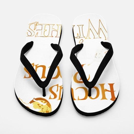 Unique Hocus pocus Flip Flops