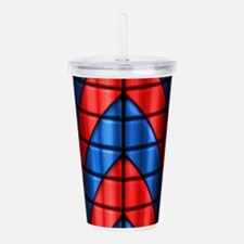 Superheroes - Red Blue Acrylic Double-wall Tumbler