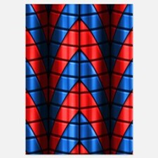 Superheroes - Red Blue Invitations