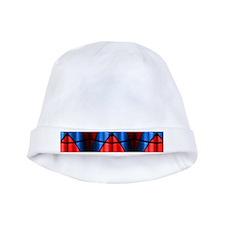 Superheroes - Red Blue baby hat