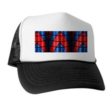 Superheroes - Red Blue Trucker Hat