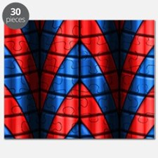 Superheroes - Red Blue Puzzle