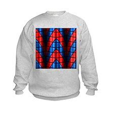 Superheroes - Red Blue Sweatshirt