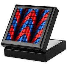 Superheroes - Red Blue Keepsake Box