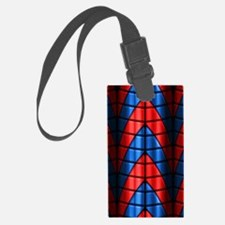 Superheroes - Red Blue Luggage Tag