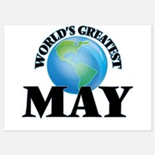 World's Greatest May Invitations