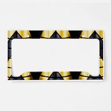 Superheroes - Black Yellow License Plate Holder
