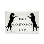 Irish Wolfhounds Rule Rectangle Magnet (10 pack)