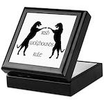Irish Wolfhounds Rule Keepsake Box
