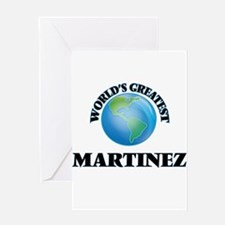 World's Greatest Martinez Greeting Cards