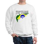 Brazilian Jiu Jitsu sweatshirt - Brazil flag