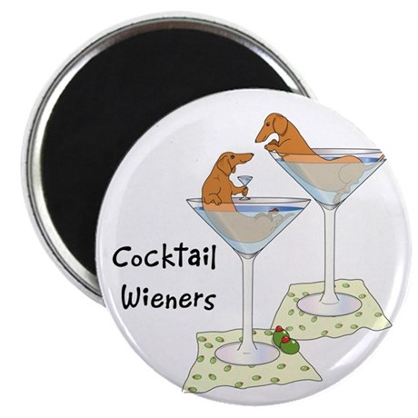Cocktail Wieners (red) Magnet