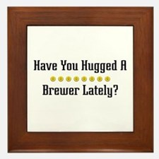 Hugged Brewer Framed Tile