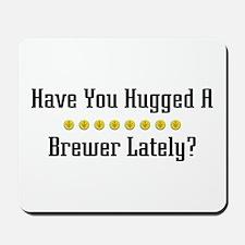 Hugged Brewer Mousepad