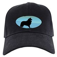 Blue Merle Blue Mt. Collie Baseball Hat