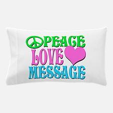 PEACE LOVE PERSONALIZE Pillow Case