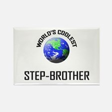 World's Coolest STEP-BROTHER Rectangle Magnet