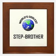 World's Coolest STEP-BROTHER Framed Tile