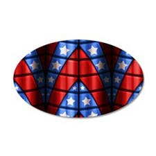 Superheroes - Red Blue White Wall Decal