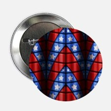 """Superheroes - Red Blue Whi 2.25"""" Button (100 pack)"""