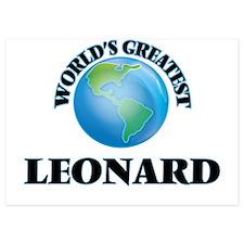 World's Greatest Leonard Invitations