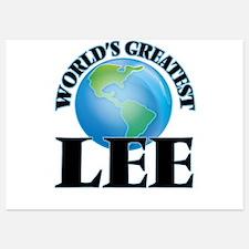 World's Greatest Lee Invitations