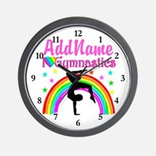 GIFTED GYMNAST Wall Clock