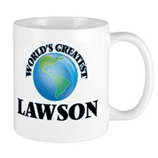 World's Greatest Lawson Mugs