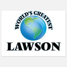 World's Greatest Lawson Invitations