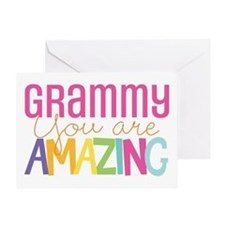 Grammy amazing encouragement Greeting Cards