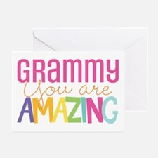 Grammy amazing encouragement Greeting Cards