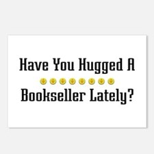 Hugged Bookseller Postcards (Package of 8)
