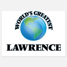 World's Greatest Lawrence Invitations