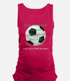 Favorite Player - Soccer Maternity Tank Top