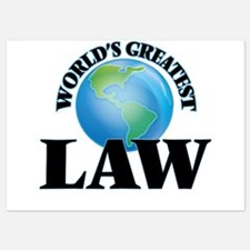 World's Greatest Law Invitations