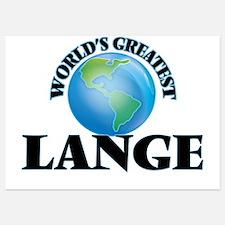 World's Greatest Lange Invitations