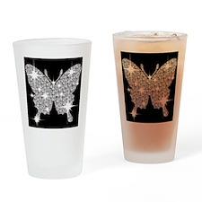 ButterflyBling Drinking Glass