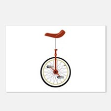 Unicycle Postcards (Package of 8)