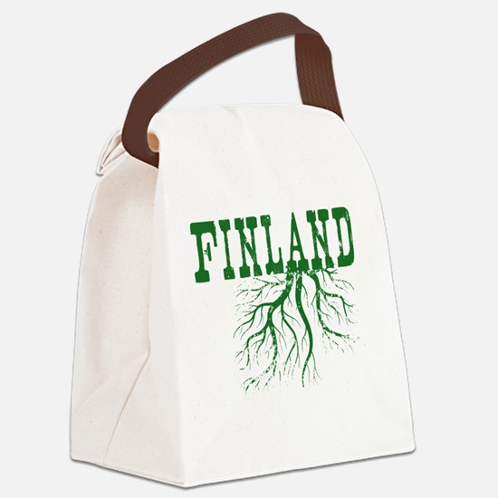 Finland Roots Canvas Lunch Bag