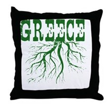 Greece Roots Throw Pillow