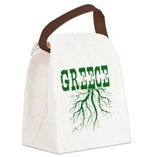 Greece Roots Canvas Lunch Bag